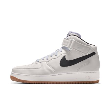 Nike Air Force 1 Mid By You personalisierbarer Herrenschuh - Braun