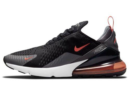 Nike Air Max 270 Essential - Gr. 41 Black / Team Orange / Iron Grey / Turf Orange