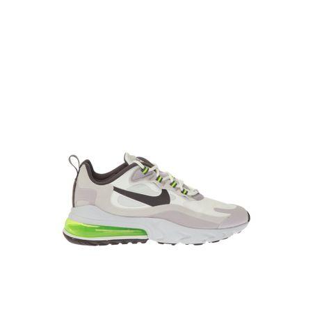 Nike, Air Max 270 Reagiere Turnschuhe Weiß, Herren, Größe: US 7