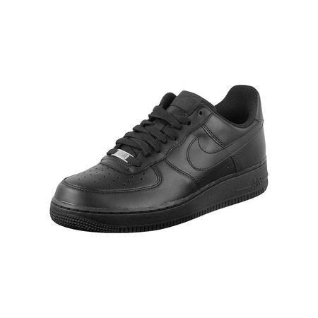 Nike Schuhe Air Force 1 Basketballschuhe schwarz Herren Gr. 38,5