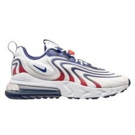 Nike Sneaker Air Max 270 React ENG - Weiß/Blau/Rot