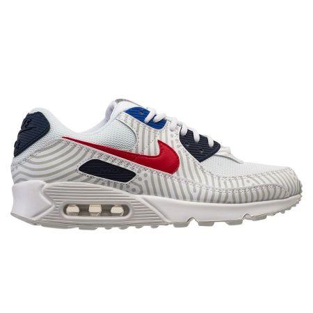 Nike Sneaker Air Max 90 - Weiß/Rot/Navy