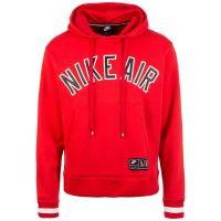 Nike Sportswear Air Fleece Kapuzenpullover Herren rot/weiß Herren Gr. 54