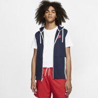 Nike Sportswear Herren-Hoodie mit durchgehendem Reißverschluss - Blau