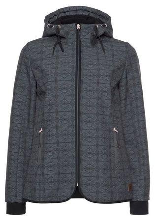 Ocean Sportswear Softshelljacke Kapuze mit kuscheligem Fleece gefüttert