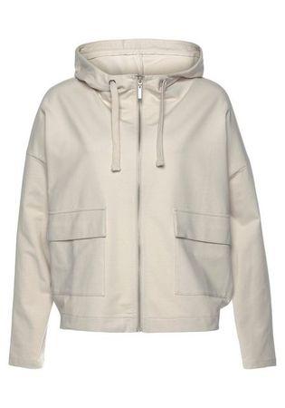OPUS Kapuzensweatjacke »Guliwa« mit großen Jackentaschen vorne