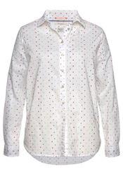 Pepe Jeans Hemdbluse »MILLIE« mit feinen Streifen und bunten Tupfen