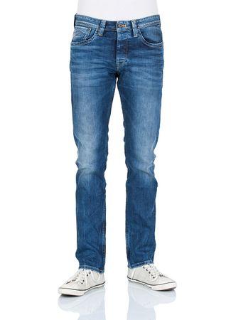 Pepe Jeans Herren Jeans Cash - Regular Fit - Streaky Stretch Med