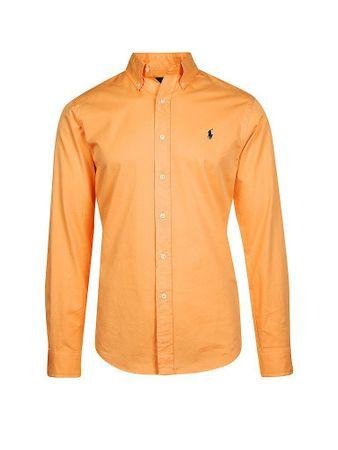 finest selection e4079 ffb84 POLO RALPH LAUREN Hemd Slim-Fit orange M
