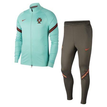 Portugal Strike Herren-Fußball-Trainingsanzug - Grün