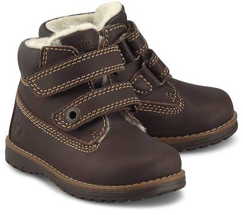 Primigi, Klett-Boots in dunkelbraun, Stiefel für Jungen