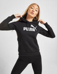 PUMA Core Overhead Hoodie - Schwarz - Womens, Schwarz