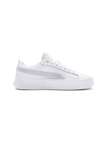 PUMA Damen Schuh Smash Platform L weiß | 40,5