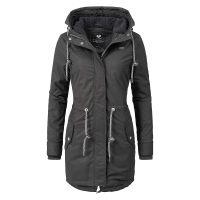 Ragwear Wintermantel Elba Coat A Wintermäntel schwarz Damen Gr. 34