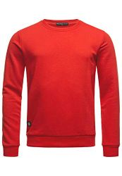 Red Bridge Herren Crewneck Sweatshirt Pullover Premium Basic