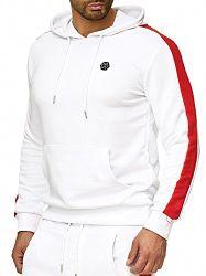 Red Bridge Herren Kapuzenpullover Hoodie Sweatshirt Chill Bill Weiß XL