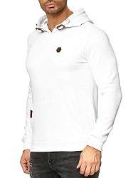 Redbridge Herren Sweatshirt mit Kapuze Hoodie Kordelzug Classic Kapuzenpulli