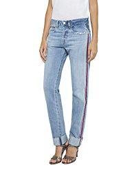 Replay Damen HETER Boyfriend Jeans, W27/L30 (Herstellergröße: 27)