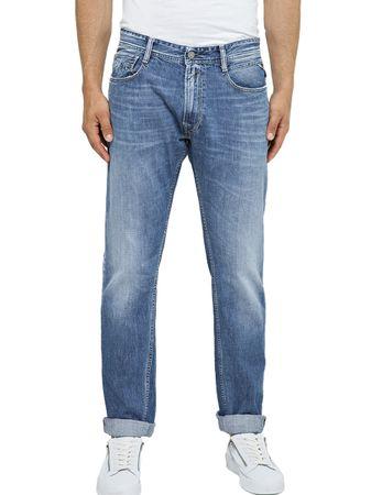 Replay Herren Jeans Rob - Slim Fit - Blau - Medium Blue Denim