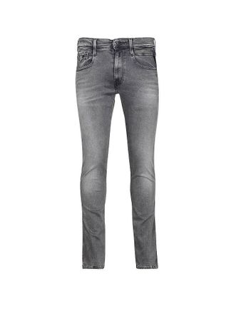 REPLAY Jeans Slim-Fit Anbass - Hyperflex grau   W33/L34
