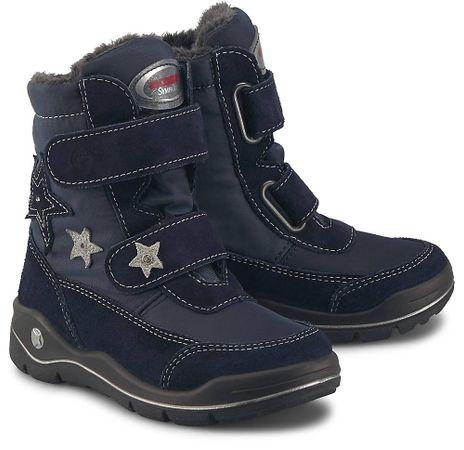 Ricosta, Winter-Boots Gloria in dunkelblau, Stiefel für Mädchen