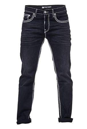 Weißer jeans herren dicker mit naht Jeans mit