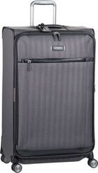 Samsonite Trolley + Koffer Lite DLX Spinner 79 Expandable Eclipse Grey (106 Liter)