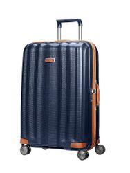 Samsonite Trolley Lite-Cube DLX Spinner 76cm (61244 1549 Midnight Blue) blau