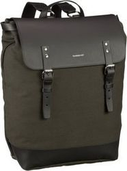Sandqvist Laptoprucksack Hege Canvas Backpack Beluga (18 Liter)