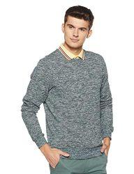 Scotch & Soda Herren Crewneck in Melange Felpa Quality Sweatshirt