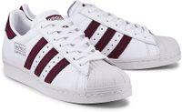 Sneaker Superstar 80s von Adidas Originals in weiß für Mädchen. Gr. 36,36 2/3,37 1/3,38,38 2/3,39 1/3,40,40 2/3,41 1/3