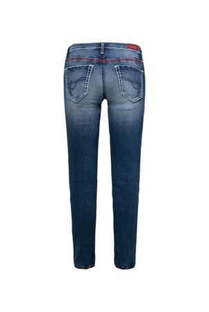 SOCCX 5-Pocket-Jeans »KA:RA« mit breiten Nähten
