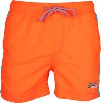 Superdry Badeshorts Beach Volley Neon Orange