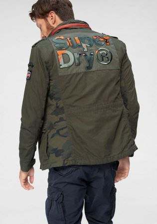 Superdry Fieldjacket BLACK LABEL ROOKIE CLASSIC 4 PKT JKT