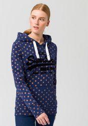 Superdry Kapuzensweatshirt VINTAGE LOGO STAR AOP ENTRY HOOD mit glitzerndem Sternenprint