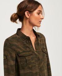 Superdry Roxanne Hemd im Militär-Stil