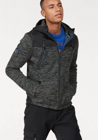 Superdry Softshelljacke Mountain Ziphood