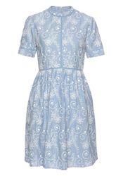 Superdry Spitzenkleid »SHELLY SCHIFFLI DRESS« in floraler Optik