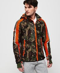 Superdry Sprint Attacker Jacke mit Tarnmuster