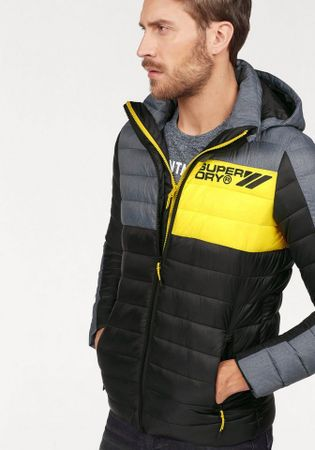 Superdry Steppjacke COLOUR BLOX FUJI