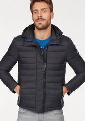 Superdry Steppjacke NEW FUJI DOUBLE ZIP HOOD