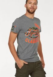 Superdry T-Shirt FAMOUS FLYERS CAMO TEE