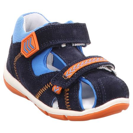 Superfit   Freddy   1-609145   Lauflern Sandale   Jungen 26, blau   orange