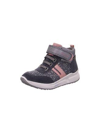 SUPERFIT Mädchen Sneaker Merida grau   Kinder   Größe: 27   1-009184