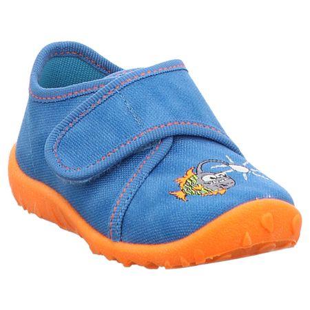 Superfit   Spotty   1-009254   Hausschuh Lauflern 25, blau   orange