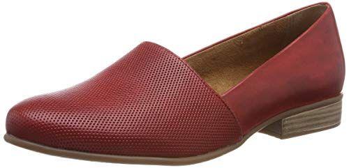 Tamaris Damen 1-1-24216-22 Slipper, Rot (Sangria 536)