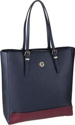 Tommy Hilfiger Handtasche Honey Workbag CB 7299 Tommy Navy Mix