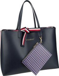 Tommy Hilfiger Handtasche Iconic Tommy Tote AW19 Sky Captain