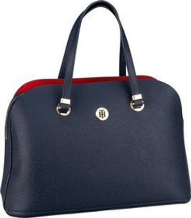 Tommy Hilfiger Handtasche TH Core Satchel 6444 Corporate (innen: Rot)