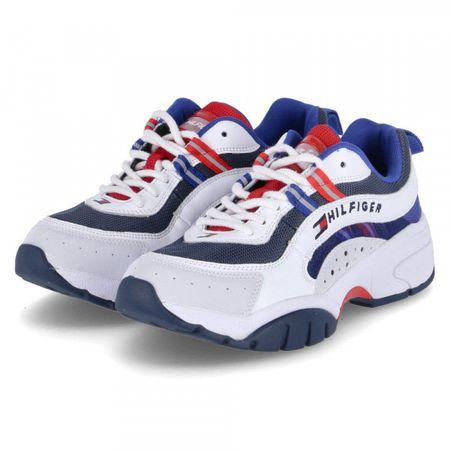 Tommy Hilfiger   Herren Sneaker Low HERITAGE TOMMY JEANS RU Weiß